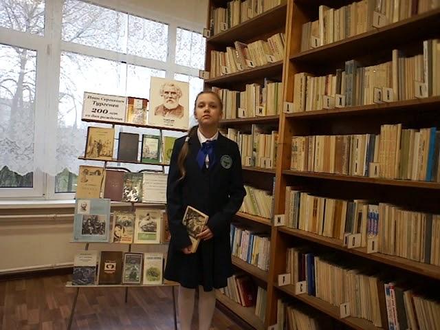 Изображение предпросмотра прочтения – АлександраЗапхалова читает произведение «Стихотворение в прозе. Два богача» И.С.Тургенева