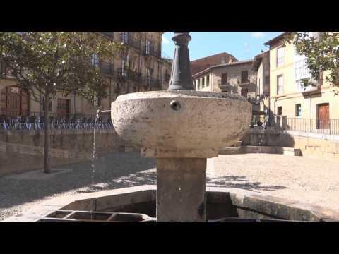 Briones,La Rioja, centro del pueblo.