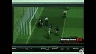 World Soccer Winning Eleven 9 Sony PSP Gameplay - PS