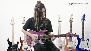 大村孝佳 plays ESP SNAPPER Artist Signature Models【デジマート・マガジン特集】