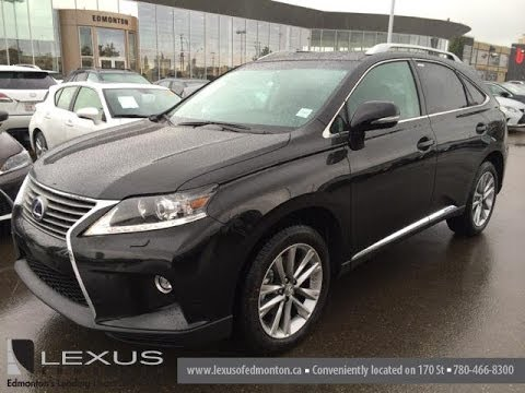 2015 Lexus RX 450h Hybrid Review  YouTube