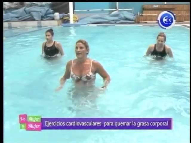 CLAUDIA H2O, TRABAJO CARDIOVASCULAER EN AGUA