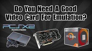 Do You Need A Good GPU For Emulation?  PS2 Test Vega 8 APU VS 1050TI