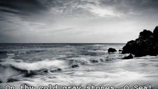 Lord Tennyson - Break, break break