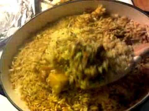 how to make chicken biryani video