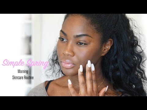 Morning Skincare Routine for Beautiful Glowy Skin | Vanity Planet Spin for Perfect Skin