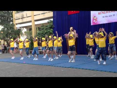 Múa dân vũ Chocolate lop 5-1, 5-2, 5-3, 5-4 trường Võ Thị Sáu - Gò Vấp