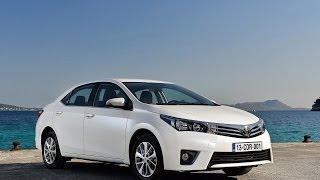 видео Новая Toyota Corolla XI 2016 как Обновленная Королла E160-E170 Седан Axio