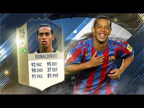 FIFA 18 Prime Icon Ronaldinho Review - 94 Prime Icon Ronaldinho Player Review