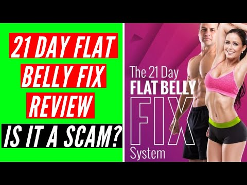 21 Day Flat Belly Fix Review - Is It A Scam?