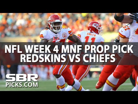Redskins-Chiefs Monday Night Player Prop | NFL Picks | With Jordan Sharp