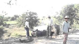 burma road works