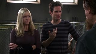 It's Always Sunny in Philadelphia - Dee and Dennis at the dog pound.