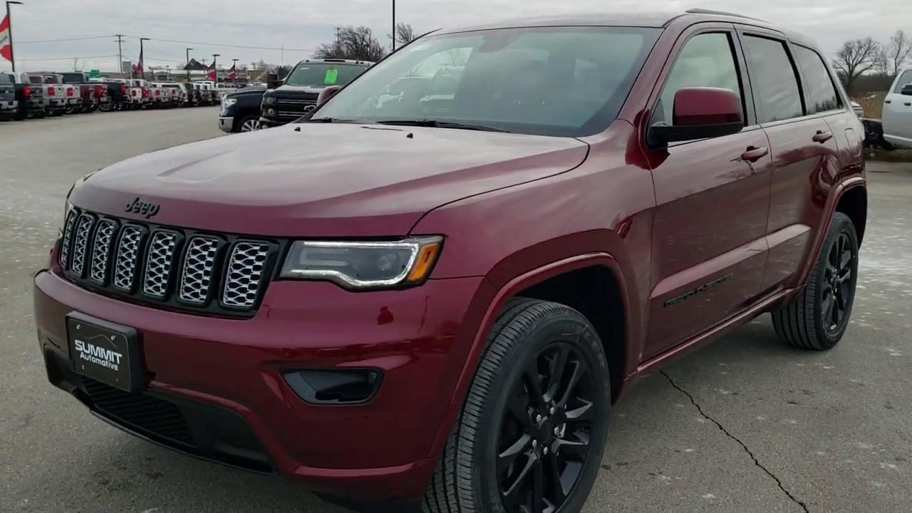 Brand New 2020 Jeep Grand Cherokee Altitude Red Velvet Walk Around