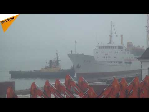 First Ever Cargo-And-Passenger Ship From North Korea Docks In Vladivostok
