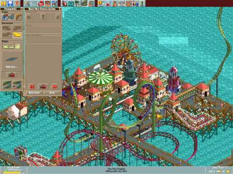 Let's play Rollercoaster Tycoon #120 (Big Pier: Underground rowing and uncoorporative research)