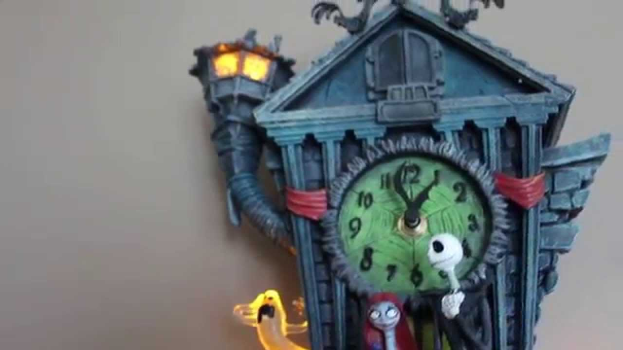 Oliveira's Spooky Nightmare Before Christmas Cuckoo Clock review ...