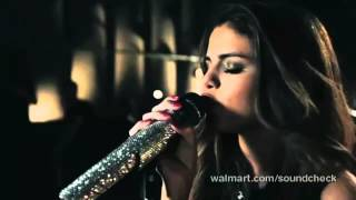 Selena Gomez & The Scene ~ Naturally (Live Walmart Soundcheck)