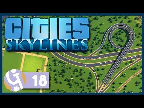 🏡 Trumpet Interchange | Let's Play Cities: Skylines #18