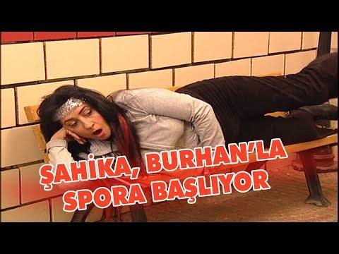 Şahika, Burhan'la spora başlıyor - Avrupa Yakası