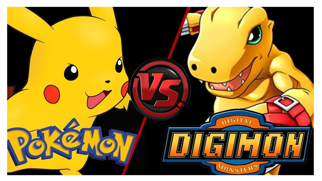 pokemon vs digimon was ist besser youtube. Black Bedroom Furniture Sets. Home Design Ideas