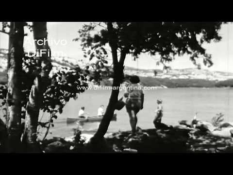 Family camping - Acampando con la familia - Pelicula Documental 1965