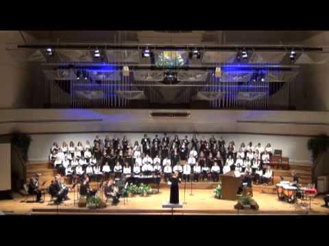 """BGHS Choir performs """"Gloria"""""""