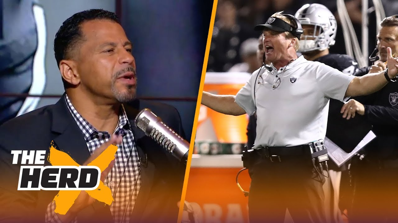 Rod Woodson talks Gruden, Tomlin's coaching style, Sam Darnold's first game | NFL | THE HERD