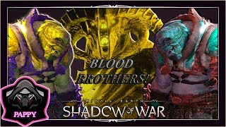 SHADOW OF WAR - UNIQUE BLOOD BROTHER ONLY PIT FIGHTS IN GORGOROTH (Volcanos)