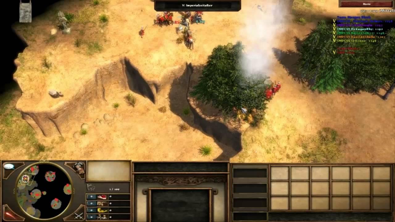 Age Of Empires 3 Multiplayer Szenario Mutation 6 Commentary 210