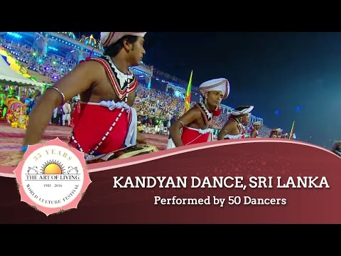 Kandyan Dance, Sri Lanka | World Culture Festival 2016