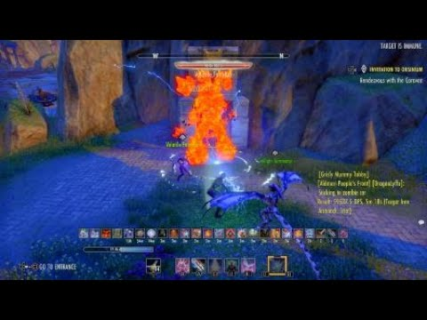 The Elder Scrolls Online: Tamriel Unlimited - 59.5k Dps on Pet Sorc (First Time) |