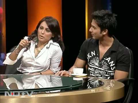 Behind The Scenes: Rani-Shahid At NDTV