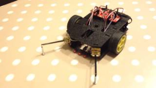 RedBot / Arduino fall prevention