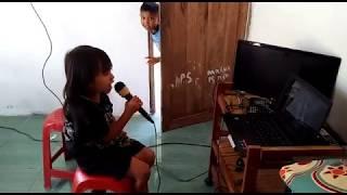 anak 6 tahun nyanyi DANGDUT  BIRUNYA CINTA BY alika