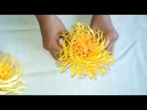 Giant Fluffy Centre for Large Paper Flowers | DIY Tutorial | Taurus Star