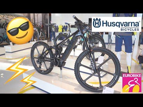 New HUSQVARNA Bicycles 2020 (Hard Cross, Mountain Cross, Extreme Cross) - Eurobike 2019 [4K]