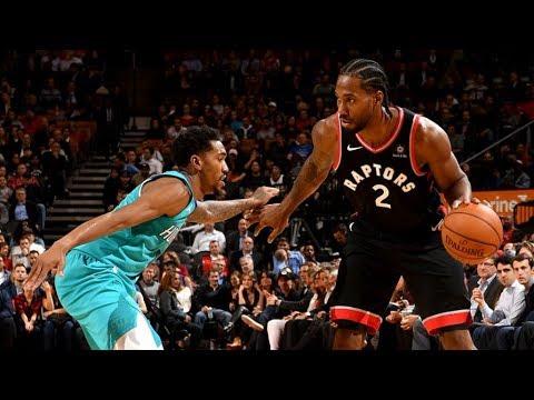 Raptors 4-0 Start! Kawhi 22 Pts Lowry 16 Pts 14 Asts! 2018-19 NBA Season