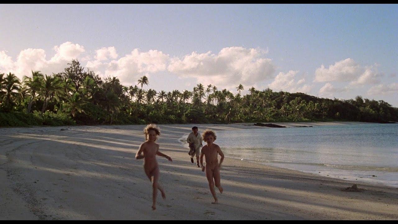Girl Nude Blue Lagoon