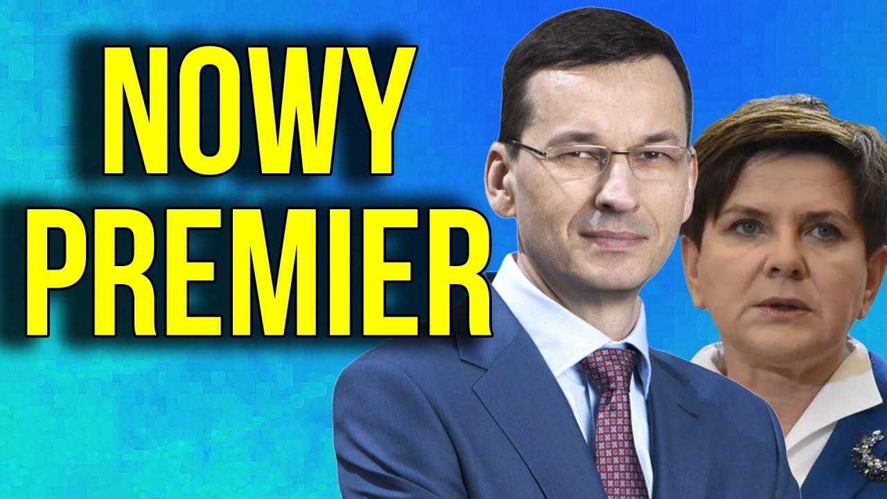 Nowy Premier Mateusz Morawiecki – Rezygnacja Beaty Szydło – DLACZEGO? O CO CHODZI?