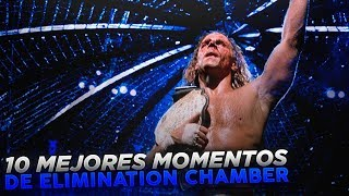 Top 10 Mejores Momentos En Elimination Chamber