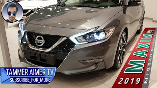 The latest 2019 NISSAN MAXIMA overview Full HD