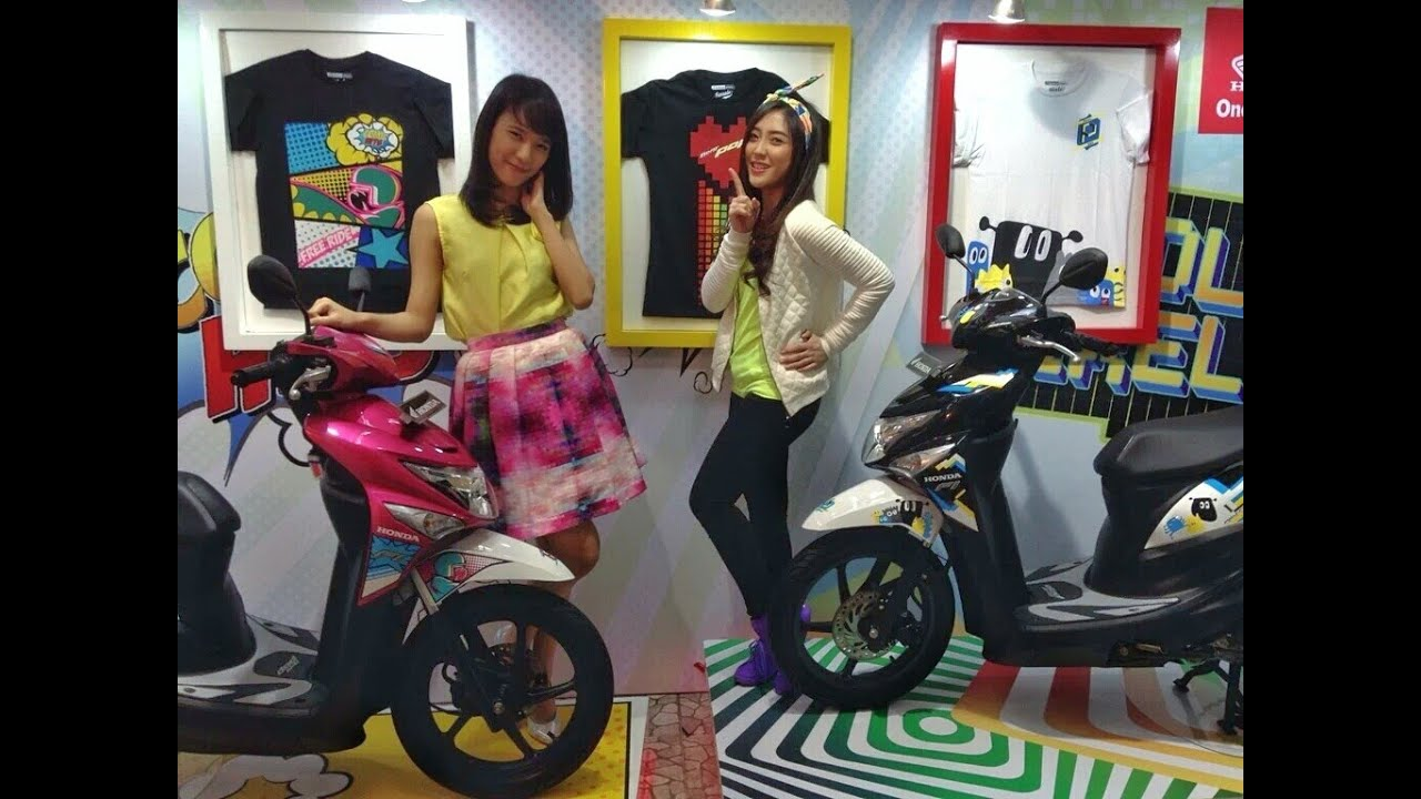honda beat pop pixel & comic 2016 indonesia   photo gallery - youtube