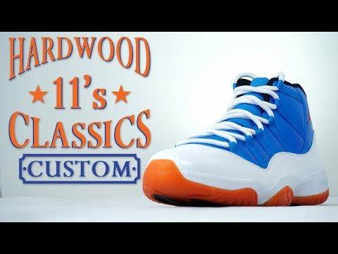 outlet store e0485 403a7 Custom Hardwood Classic Jordan 11- Restorations With Vick ...