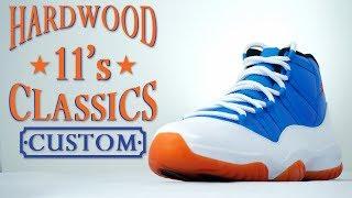 Custom Hardwood Classic Jordan 11- Restorations With Vick