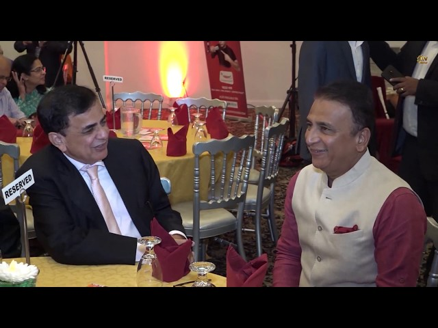 H2H Foundation Hosts Interactive Session & Fundraiser - Indian Cricket Legend Sunil Gavaskar