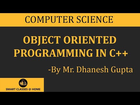 Pdf notes oriented object programming