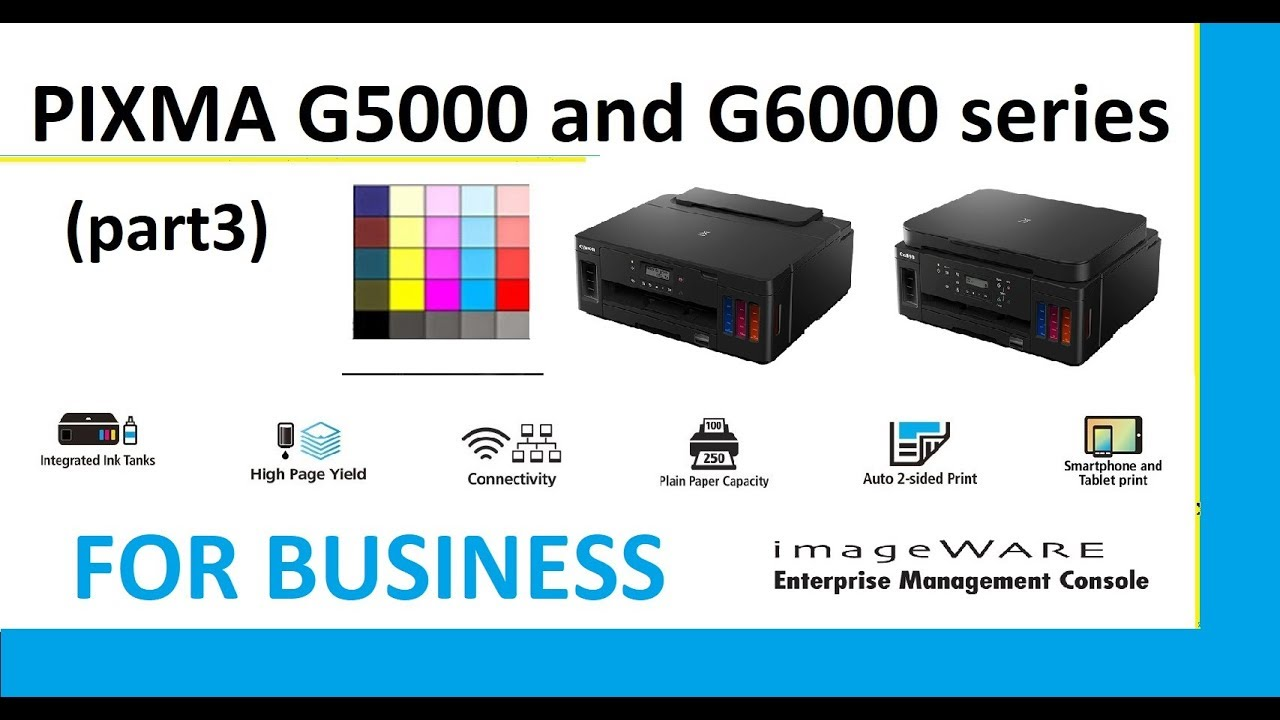 PIXMA G5040 G5050 G6040 G6050 (part3) - Business and Networking