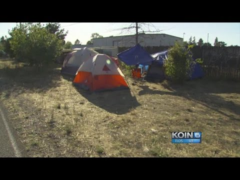 Oregon bill would allow homeless to camp in parks