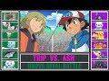 Ash vs. Trip (Pokémon Sun/Moon) - Unova Rival Battle
